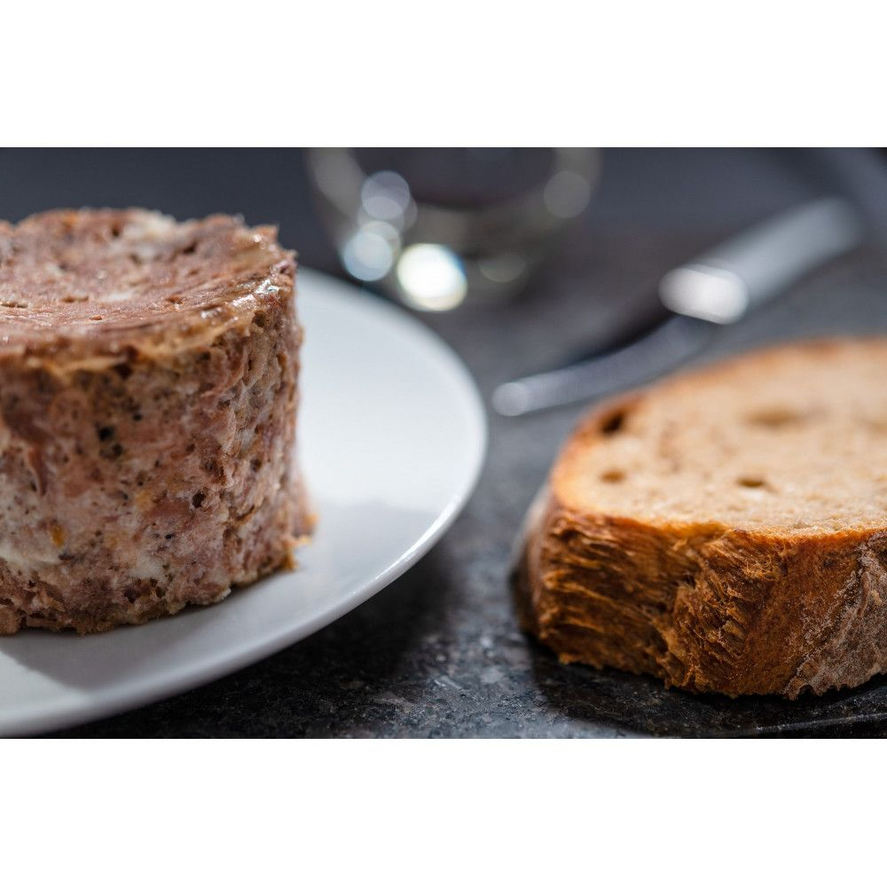 Goose Rillettes without force feeding, Auca 180gr