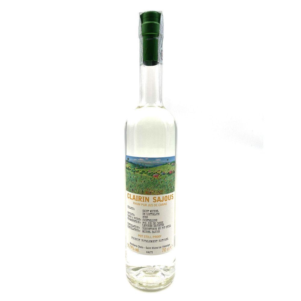 Rum Clairin Sajous white Harvest 2018, 55,9°