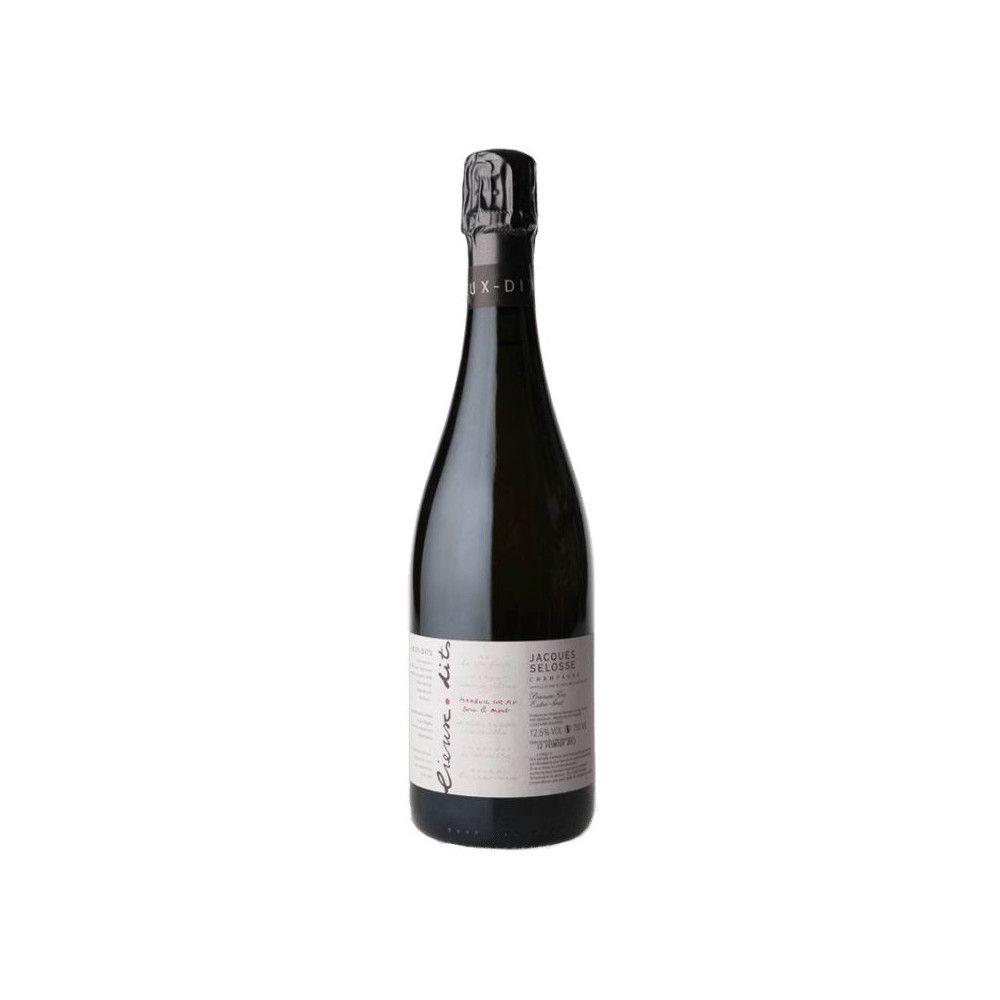 Jacques Selosse - Lieux-dits Sous le Mont Mareuil Sur Ay Blanc de Noirs Grand Cru Extra Brut
