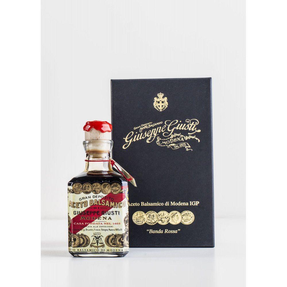 Balsamic Vinegar - 5 Gold Medals, Banda Rossa by Giuseppe Giusti, 250ml
