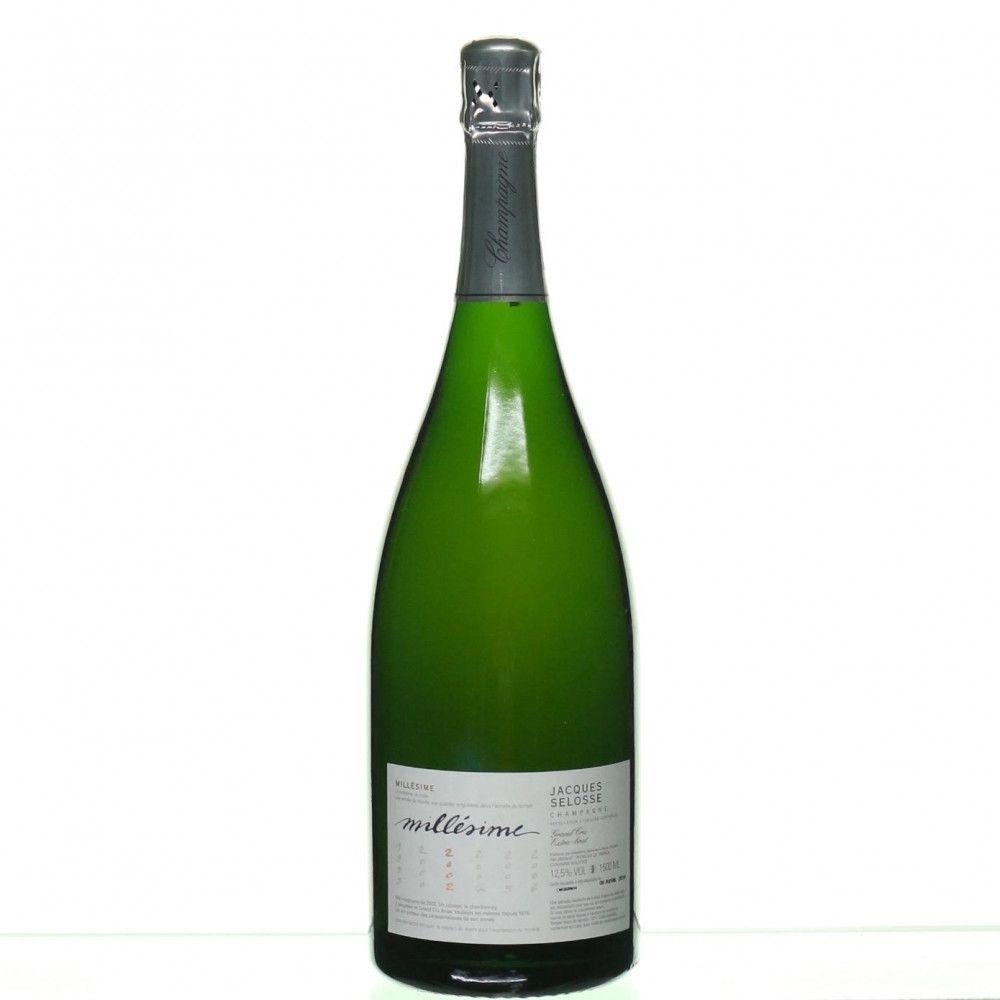 Jacques Selosse - Blanc de Blancs Grand Cru Millésimé 2002, magnum